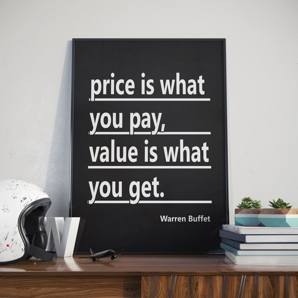 Warren buffet typography poster wall street stock market zoom amipublicfo Choice Image