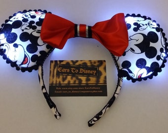 LIGHT UP Mickey Mouse inspired Ears