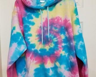Colorful Tie-Dye Hoodie