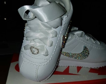 nike baby bling trainers