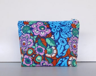 Cosmetic Bag, Makeup Bag, Zippered Pouch, Purse, Bag, Colourful Cosmetic Case, Makeup Case, Pouch