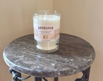 Aberlour Single Malt Scotch Whiskey Bottle Candle