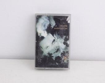 Vintage cassette tape, The Cure - Disintegration, vintage music cassette, audio tape, vintage music album