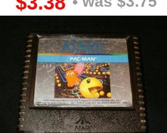 VINTAGE Pac-Man - Atari 5200 Game Cart TESTED Gd-Vg