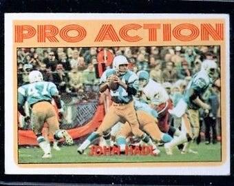 Vintage 1972 Topps #254 John Hadl IA EX+