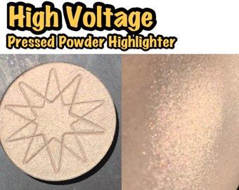 High Voltage - Pressed Powder Highlighter / Eyeshadow - 36mm PAN