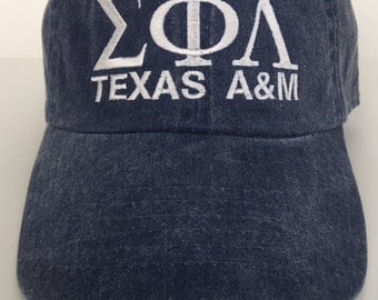 Sigma Phi Lambda Embroidered Cap