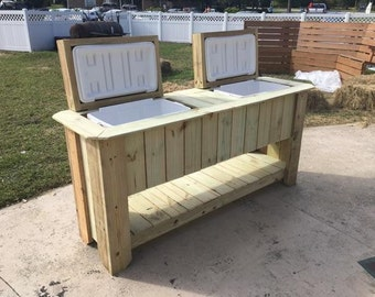 Cooler Bar // Wooden Bar // Beer Chest // Ice Chest //