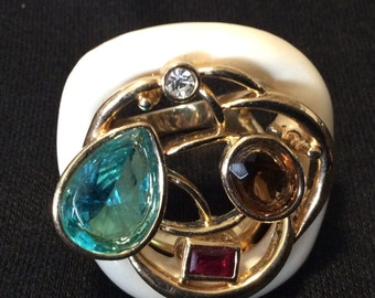 Camille Lucie French Statement Ring.