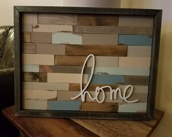 Distressed Wall Hanging