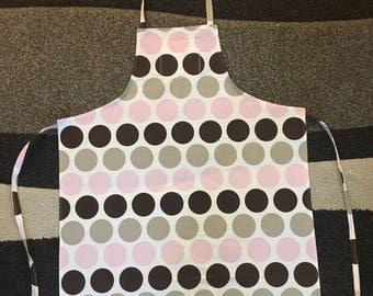 Adult Apron - polka dots