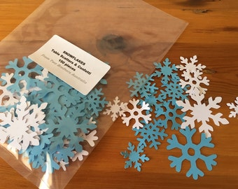 Frozen Snowflakes Table Scatters/Confetti -  150 pieces