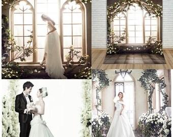 Wedding backdrop,Flower background,Garden backdrop,floral backdrop,Flower door backdrop,Phtography backdrop