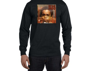 Nas Illmatic Long Sleeve T-Shirt Vintage Style Hip Hop New Rap Tee Shirt Classic Shirt Stillmatic Nasir Jones 90s New York Rapper Hip Hop