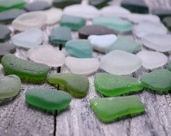 Quality small Sea glass mix 45 pcs Flawless Sea glass for Jewelry Bulk Craft Supply Sea Glass for sale Unenhanced Seaglass Real Surf Tumbled
