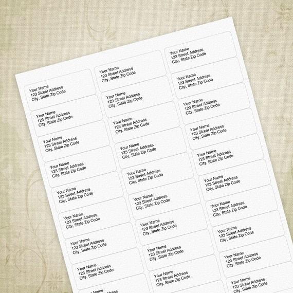 return address labels 5160 pdf editable custom template