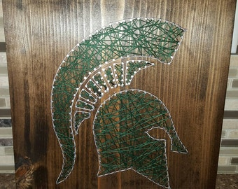 MSU Nail String Art