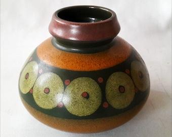 Demure MCM Mid-Century Modern Pottery Vase