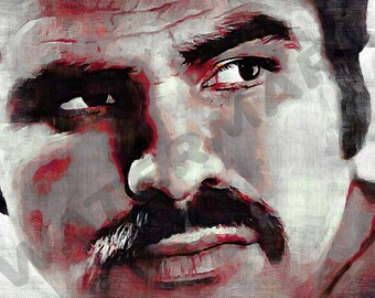 Burt Reynolds Art Print - Deliverance Oil Painting Poster  LFF0023