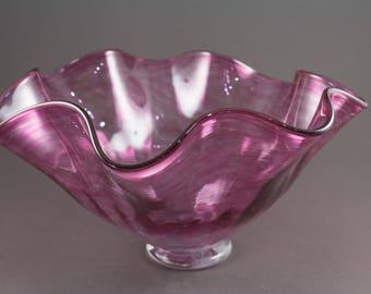 Pink Flutter Bowl