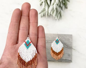 Tassel Earrings, Beaded Earrings