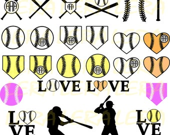 60 % OFF, Baseball SVG, Baseball Monogram Svg, Baseball Clipart,Vector Baseball,Silhouette Studio,Baseball svg Cut Files,svg,dxf,ai,eps, png