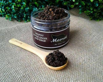Organic Coffea Ginger Body Scrub