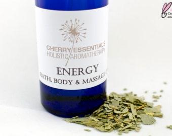Energy (Eucalyptus, Lemon & Vanilla Body Oil)