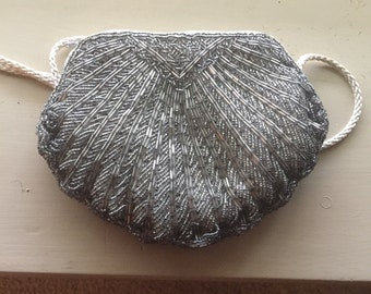 Sequin cross body purse