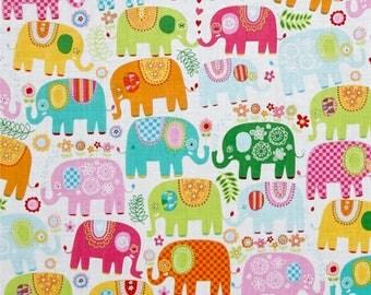 Baby Shower, Baby Gift, Baby Blanket, Baby Boy Blanket, Happy Elephants Baby Blanket