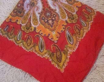 Scarves from Galicnik Macedonia, vintage scarves, modern ethnic scarves