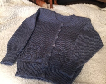 Custom Knit Girls Sweater