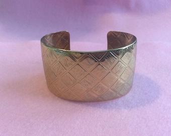 Beautiful metal cuff bracelet