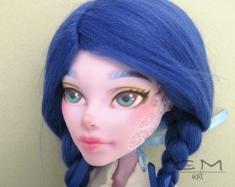 OOAK Doll Operetta from Monster High repaint custom