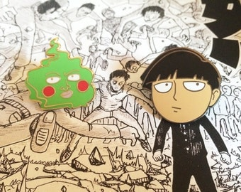 Dimple and Mob Bundled Pins (Mob Psycho 100)
