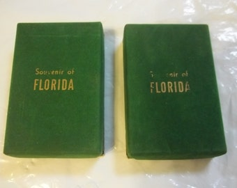 Vintage Souvenir of Florida Playing Cards by Fanfare