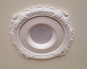 Recessed light etsy 6 34 decorative recessed light trim for recessed lighting lr mozeypictures Images