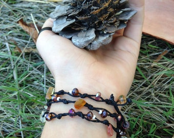 Amber Necklace/Wrap
