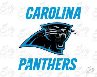 Carolina panthers svg – Etsy