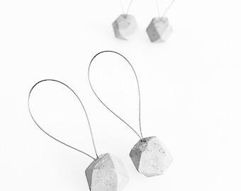 "Handmade concrete Stitchmarker ""hexagon"" (2 pieces) - handmade concrete marker ""Hexagon"" (2 pieces)"