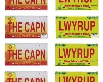 scale model Breaking Bad car license tag plates tv show