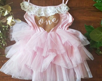Second Birthday Girl Tutu Dress-  Second Birthday Tutu- Two Birthday -One Birthday-Three Birthday Girl Second-Birthday Girl-Glam