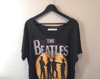 Beatles Slouchy Tee - Women