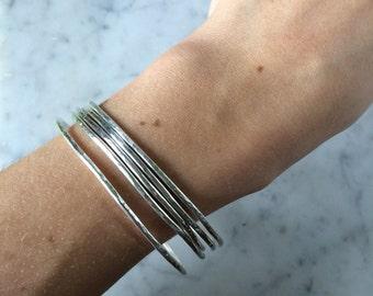 Bracelet jonc en argent 950
