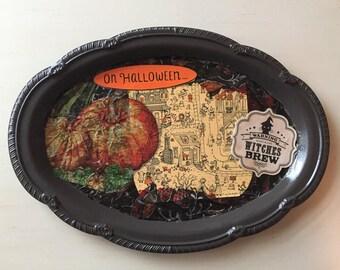 Decorative Halloween Tray