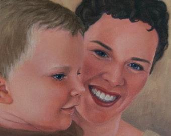 Custom Oil Portrait from Photo