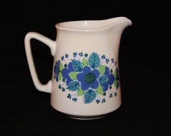Stavangerflint of Norway - Bonnie decor by Inger Waage - retro ceramics jug Scandinavian Mid century design