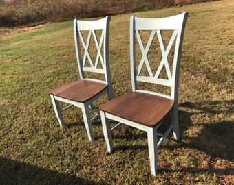 Dining Room Chair Double X Back
