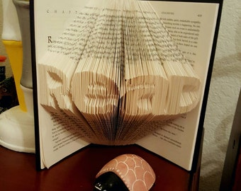 Custom Folded Book Art