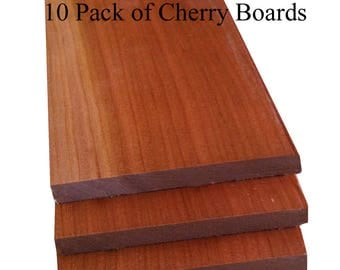 "Thin Wood Cherry 1/4"" Thick and 1/2"" Thick Handypack"